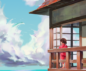 spirited away and studio ghibli image