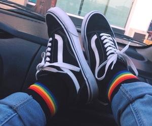 alternative, vans, and grunge image
