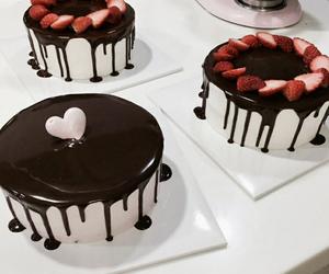 cake, food, and art image