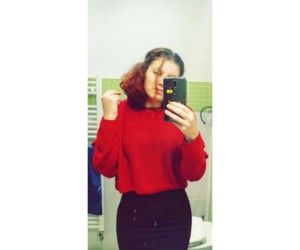 bathroom, girl, and me image