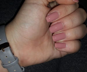 long, nails, and natural image