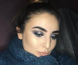 art, eyeshadow, and girl image