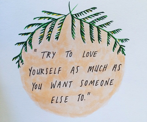 quotes, love, and love yourself image