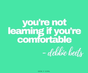 comfort zone, green, and quotes image