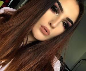 christmas, girl art selfie eyeshadow, and girl image