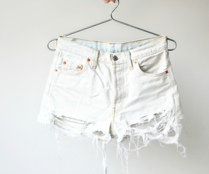 fashion, white, and shorts image