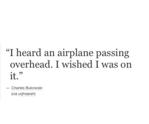quotes, airplanes, and life image