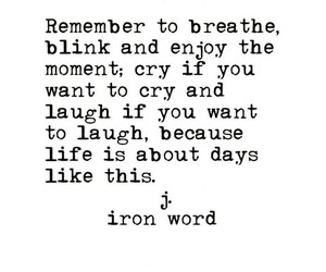 blink, breathe, and cry image