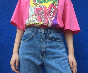 90s, aesthetic, and pink image