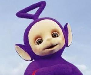 purple and teletubbie image