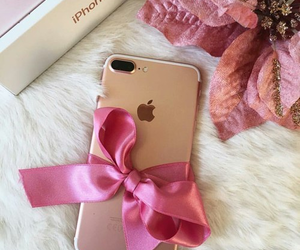 iphone, pink, and gift image