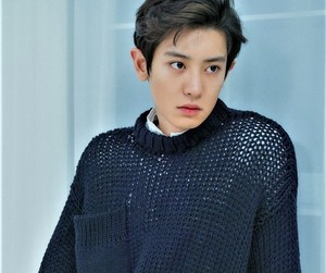 exo, chanyeol, and kpop image