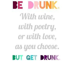 quote, drunk, and text image