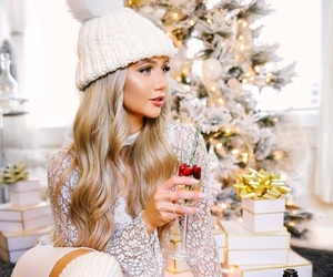 winter, blonde, and christmas image
