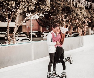 goals, ice skating, and winter image