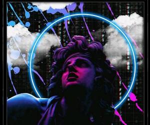 aesthetic, vaperwave, and purple image