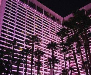 pink, night, and tumblr image