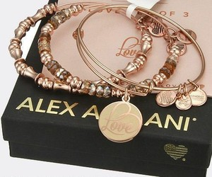accessories, rose gold, and arm candy image
