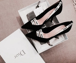 fashion, shoes, and dior image