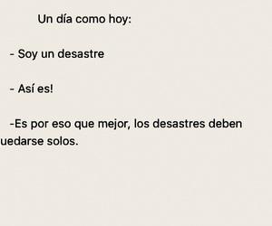 alone, letras, and español image