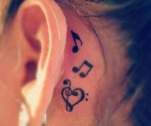 tattoo and music image