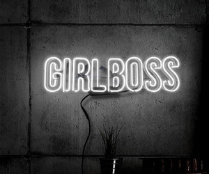 light, girl boss, and boss image