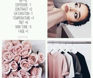 vsco, instagram, and filter image