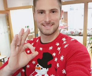 handsome, sweater, and winter image