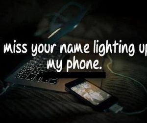 phone, miss, and quotes image