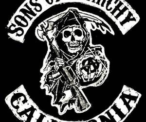 sons of anarchy, soa, and california image