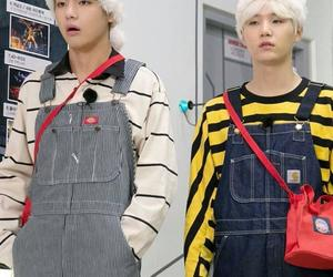 v, min yoongi, and bts image