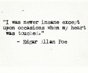 quotes, heart, and insane image