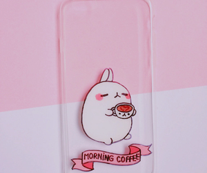 pink, phone case, and cute image