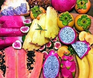 fruit, tropical, and bright image