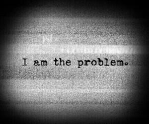 problem, sad, and dark image