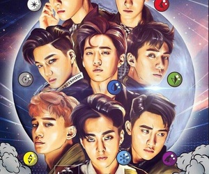 album, exo, and k-pop image