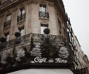 cafe, architecture, and places image