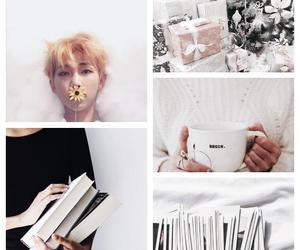 bts, kim namjoon, and bts aesthetic image