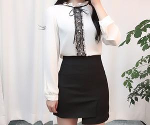 kfashion, fashion, and korean fashion image