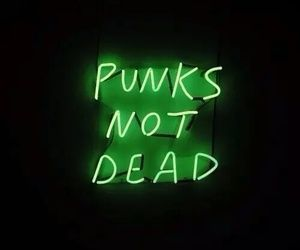 punk, green, and grunge image