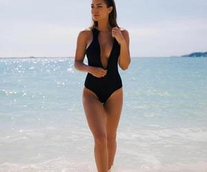 bathingsuit, beach, and ocean image