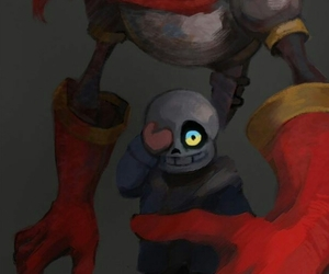 genocide, papyrus, and sans image