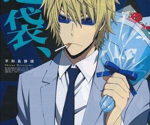 anime, handsome, and shizuo image