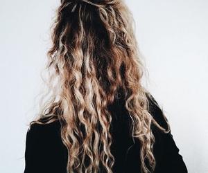 curls, hair, and lookbook image