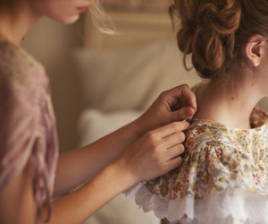 girl, dress, and beautiful image