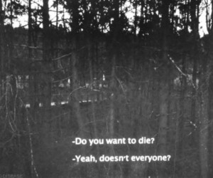 die, grunge, and quotes image