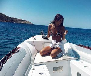 fashion, bikini, and boat image