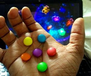cadbury, thanos, and gems image