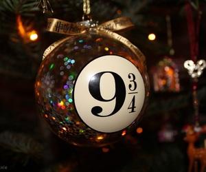 bow, christmas, and christmas tree image