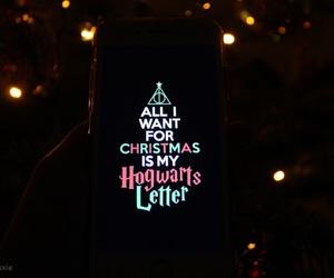 christmas, christmas tree, and harry potter image